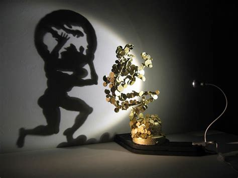 Fascinating Meaning by Shadow Art Sculptures By Diet Wiegman 171 Twistedsifter