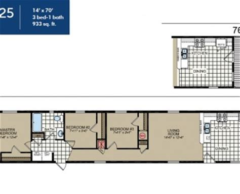 14x70 mobile home floor plan eagle river homes custom single wide ridgecrest
