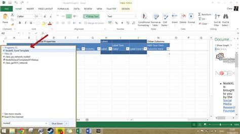 nodexl tutorial tutorial network analysis of a twitter hashtag using