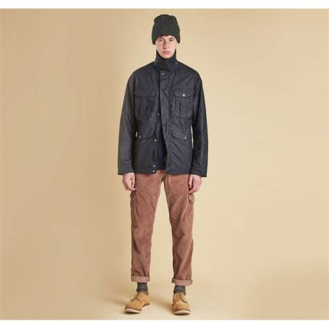 Navy Crux barbour crux wax jacket navy on sale