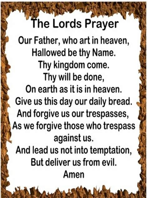 lutheran prayer andy s ministry the lord s prayer and nss