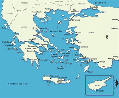 greek islands cruise ports