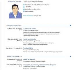 Resume Sles In Word 2007 by Ejemplos De Curriculum Vitae Europeo En Word