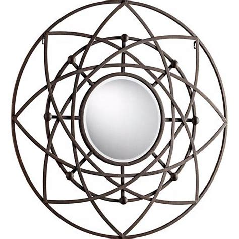 iron mirror wall decor robles 39 quot decorative iron wall mirror x7217