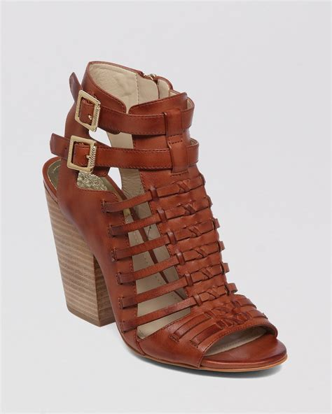 high heeled gladiator sandals vince camuto open toe gladiator sandals medow high heel in