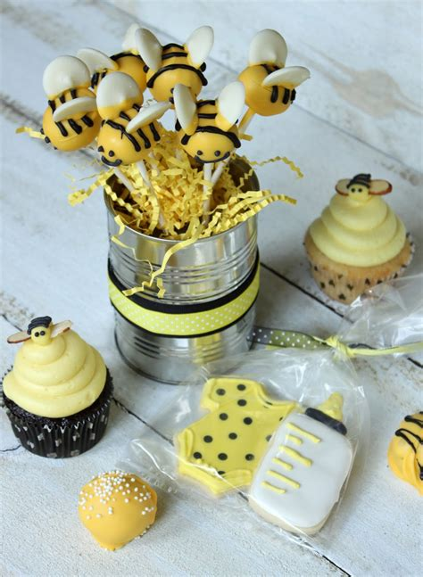 Crave Indulge Satisfy Bumble Bee Baby Shower Bumble Bee Ideas