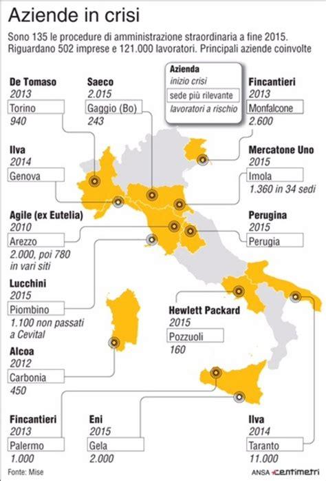 sedi eni industria la mappa delle crisi italiane