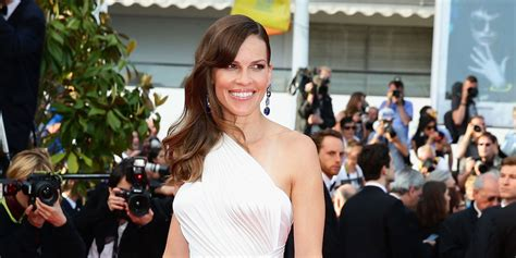 Yay Or Nay Hilary Swank At Ps I You Premiere In Lhuillier by Hilary Swank Transgender Acceptance