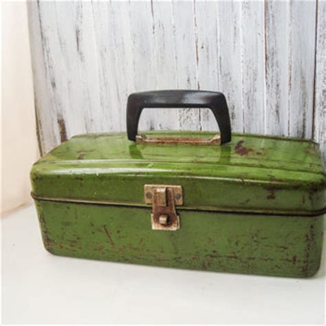 Wedding Tackle Box by Best Vintage Tackle Box Products On Wanelo