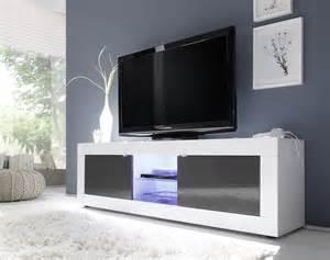 meuble tele blanc meuble tv blanc laque