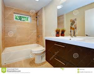 newest bathroom designs modern new bathroom design with sink and white tub stock photo image 32017840