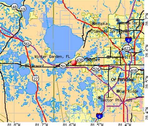 What County Is Winter Garden Fl In by Winter Garden Florida Fl 34787 Profile Population