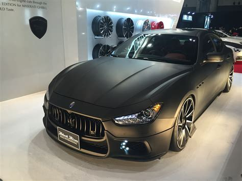 maserati ghibli modified file maserati ghibli wald black bison edition front