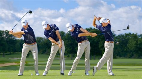 modern golf swing modern golf swing swing sequence robert streb photos
