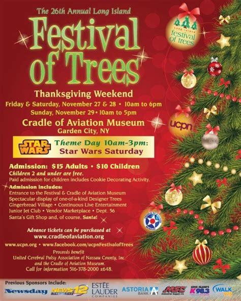 christmas trees for sales flyers 2015 massapequa tree lightings events festivals