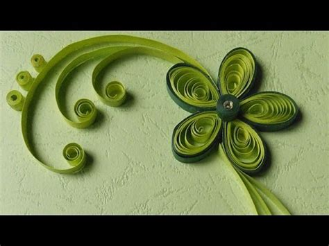 Paper Craft Works - paper quilling greeting cards flower works