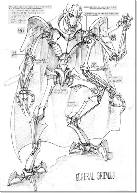 general grievous coloring pages printable coloring pages
