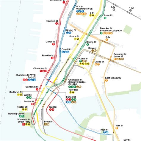 subway nyc map new york subway track map the map room
