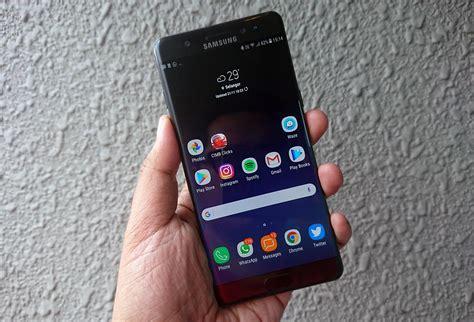 Pasaran Samsung Note 8 Ulasan Samsung Galaxy Note Fan Edition Phablet Berstylus