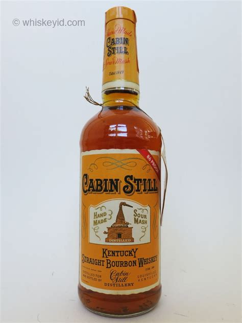 Cabin Still Bourbon by Cabin Still Whiskey Id Identify Vintage And