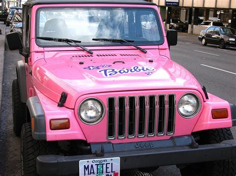 design your dream jeep saw this barbie jeep while driving with my mom the other