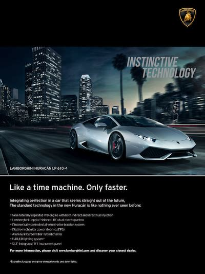 lamborghini ads luxury daily