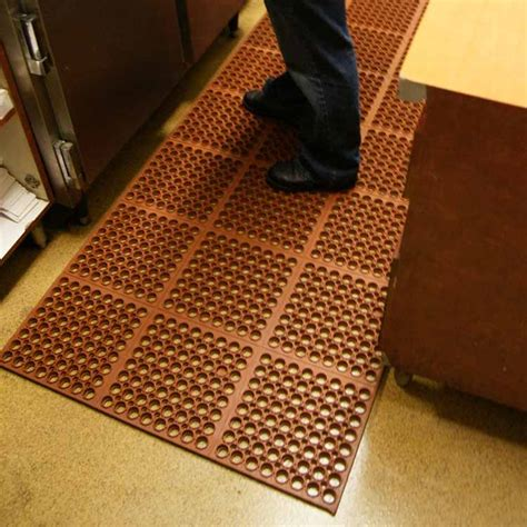 rubber kitchen floor mats rubber kitchen floor mats make a statement at local trade show