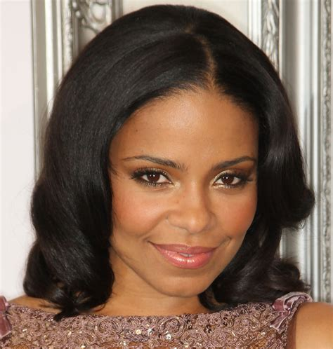 hollywood beautiful black actress sanaa lathan hair hair luv bugs zimbio