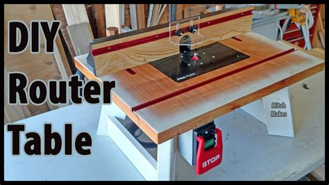 how to build a router table build a benchtop router table diy youtube
