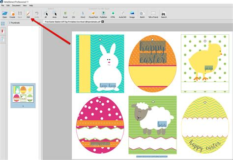 how to edit templates how to convert and edit free printable easter pdf templates