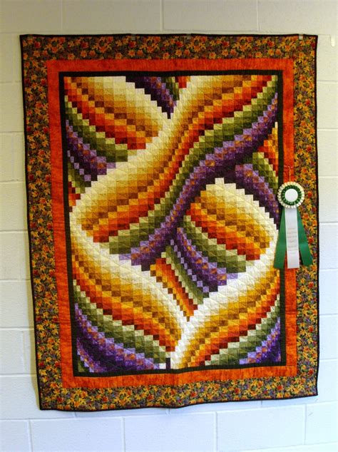 Twisted Quilt Pattern by Twisted Bargello Quilt Place
