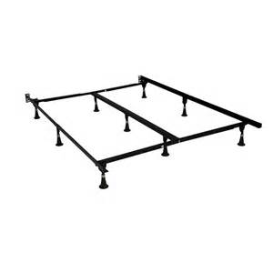 Bed Frame Kit Home Depot Bed Frame Adjustable Size Bed Frame 7079bsg I