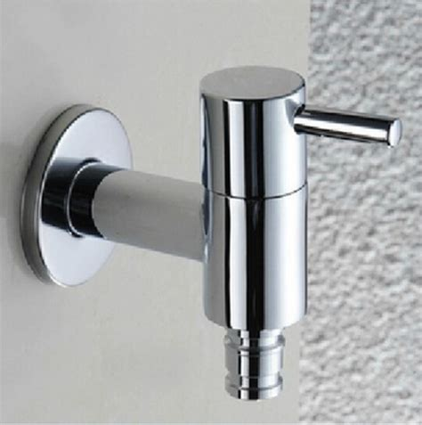 Garden Sink Faucet by High Quality Chrome Brass Luxury Washing Machine Faucet
