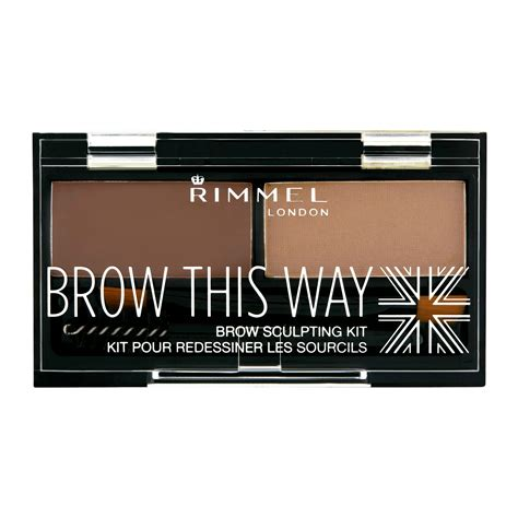 rimmel brow this way eyebrow kit 3 3g feelunique