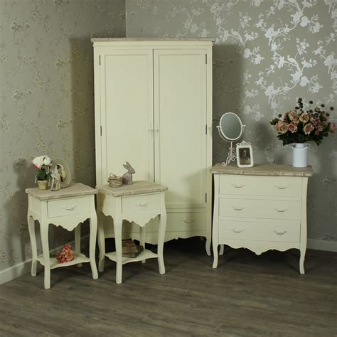 cream bedroom furniture cream painted wooden full bedroom furniture set bedside