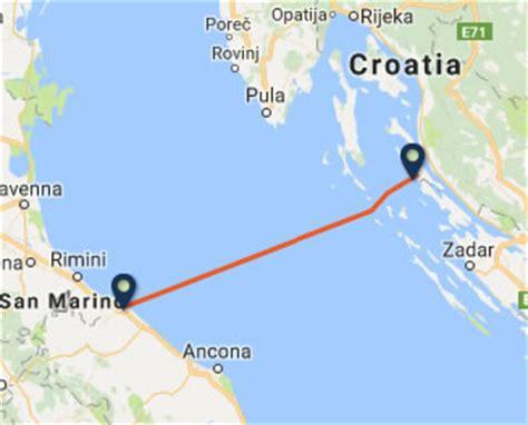 ferry catamaran novalja italy to croatia ferries ferry companies and routes