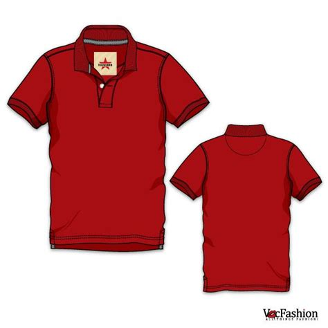 template t shirt polo men s classic polo neck t shirt vector template modelli