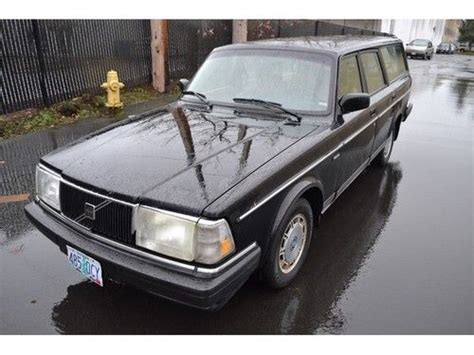 buy   volvo   speed manual  door wagon  bellevue washington united states
