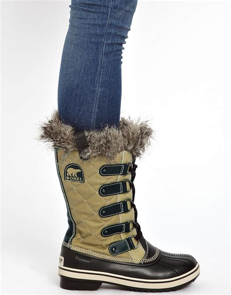 Toods Subzero Boot lyst fred perry sorel tofino cate quilted faux fur