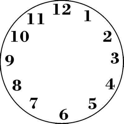 printable clock without numbers best 25 clock face printable ideas on pinterest clock