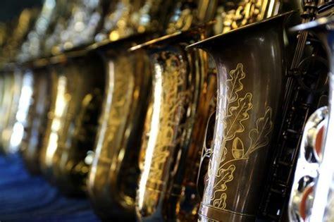 signature custom raw alto saxophone