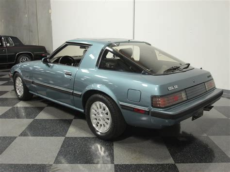 how cars run 1985 mazda rx 7 auto manual 1985 mazda rx7 streetside classics the nation s trusted classic car consignment dealer