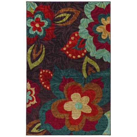 Bright Floral Rugs by Welcome To Memespp