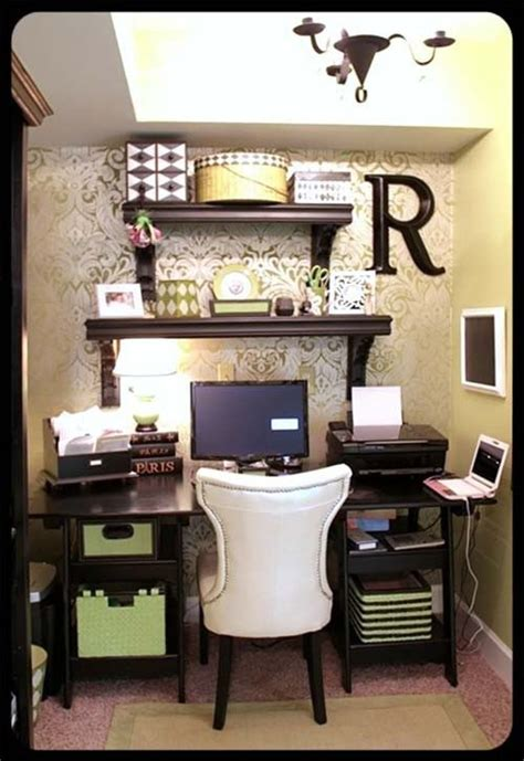 Small Desk Area Ideas And Girly Office Home Pinterest Offices Girly And
