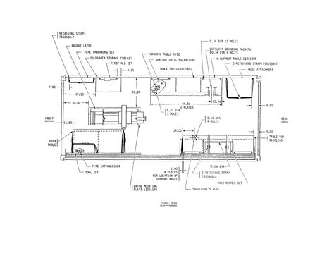 machine shop floor plan machine shop floor plans machine shop floor plans