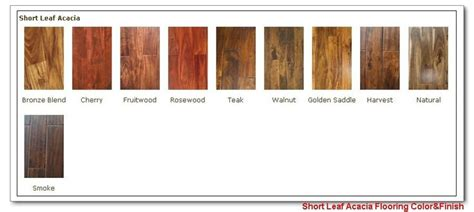 color acacia wood flooring stain color chart for the