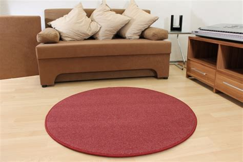 runder teppich wolle willkommen bei teppichkiste wollteppich natura rot wolle