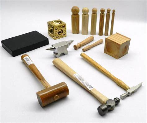 tools jewelry metalsmith tool kit basic blocks hammers metal smithing