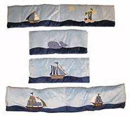 Ahoy Mate Crib Bedding Nojo Traditional Bumper Ahoy Mate Crib Bumpers Baby
