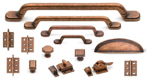 copper kitchen cabinet hardware classic suite cabinet hardware collection in old copper